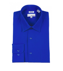 Modena - French Blue Contemporary Fit Dress Shirt