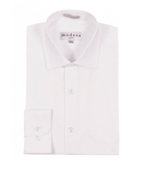 Modena - Egg Shell Slim Fit Dress Shirt