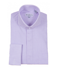 Modena - Purple Classic Fit Dress Shirt