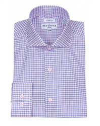 Modena - Pink Slim Fit Dress Shirt