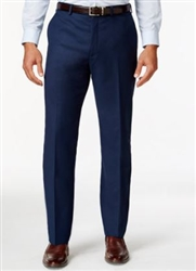 MaxDavoli Solid Blue Slacks