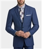 MaxDavoli Solid Blue Suits Modern Fit