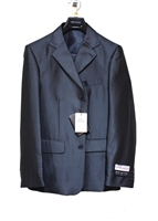 Boy Suit - 3 Pieces - Vested - Charcoal - Sizes 8-20