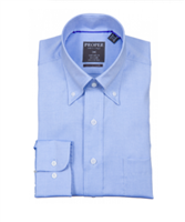 Proper Light Blue Wrinkle Free Contemporary Fit