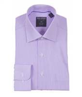 Proper Purple Wrinkle Free Classic Fit