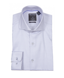 Proper Gray Wrinkle Free Slim Fit