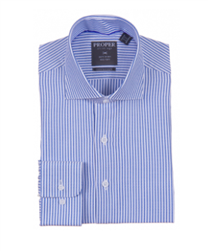 Proper French Blue Wrinkle Free Contemporary Fit