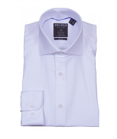Proper White Wrinkle Free Slim Fit