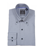 Proper Gray Wrinkle Free Contemporary Fit