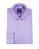 Proper Purple Wrinkle Free Slim Fit