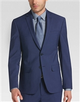 Calvin Klein Infinite Stretch Blue Suit