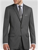 Michael Kors  Solid Charcoal Suit Modern Fit