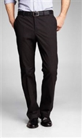 Prive Solid Black Slacks