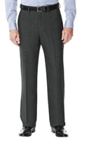 Prive Solid Medium Grey Slacks