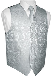 Brand Q - Paisley Grey Vests