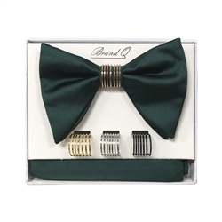 Brand Q Long Bow Ties with Rings