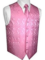 Brand Q - Paisley Pink Vests