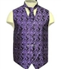 Brand Q - Paisley Purple Vests