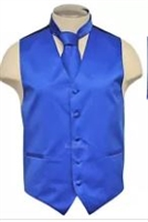 Brand Q - Solid Blue  Vests