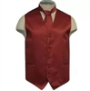 Brand Q - Solid Burgundy Vests