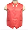 Brand Q - Solid Coral Vest