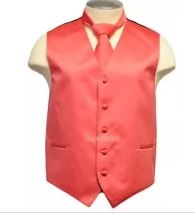 Brand Q - Solid Coral Vests