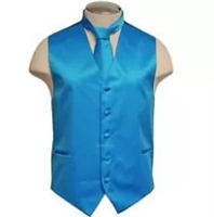 Brand Q - Solid French Blue Vests