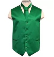 Brand Q - Solid Green Vest