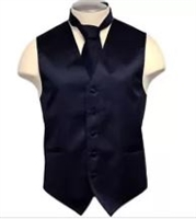 Brand Q - Solid Navy Vests