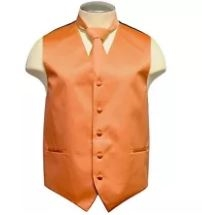 Brand Q - Solid Orange Vest