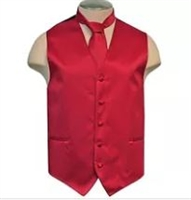 Brand Q - Solid Red Vests