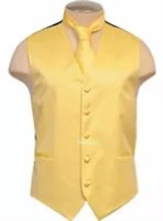Brand Q - Solid Set Yellow Vest