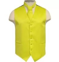 Brand Q - Solid Yellow Vest