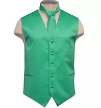Brand Q - Solid Turquoise Vests