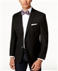 Ralph Lauren - Stretch Wool Solid Black Blazer