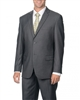 Caravelli Solid Grey Suit Modern Fit