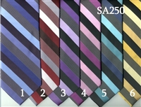 Stacy Adam Stripe Tie & Hanky Sets