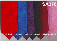 Stacy Adams Paisley Tonal in stock Program 1F-RED 2-ROYAL 3-PLUM 4-BLACK 5-BURG 6-PINK