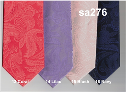 Stacy Adams Paisley Tonal in stock Program 13-CORAL 14-LILAC 15-BLUSH 16-NAVY
