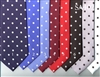 Stacy Adam Extra Long Satin Dot Tie & Hanky