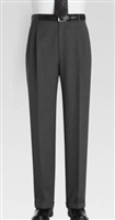 Ralph Lauren - Natural Stretch Solid Medium Grey Wool Pants