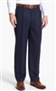 Ralph Lauren - Natural Stretch Solid Navy Wool Pants