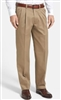 Ralph Lauren - Natural Stretch Solid Tan Wool Pants