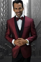 Statement Bellagio-6 Burgundy Tuxedo