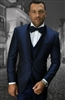 Statement Bellagio-6 Navy Tuxedo