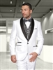 Statement Capri White Tuxedo Modern Fit