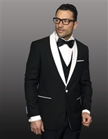 Statement Encore Black Tuxedo Modern Fit
