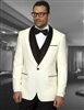 Statement Encore Cream Tuxedo Modern Fit