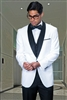 Statement Encore White Tuxedo Modern Fit