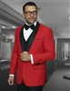Statement Encore Red  Tuxedo Modern Fit